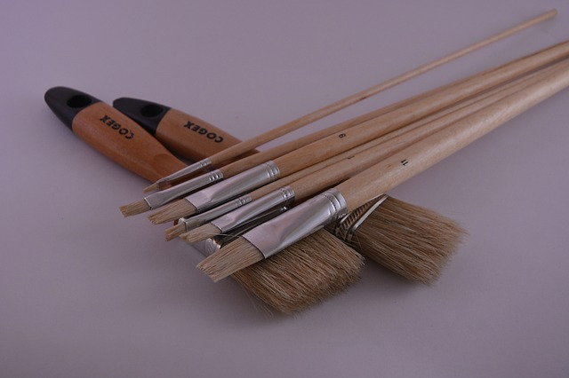 caring for paint brushes after use