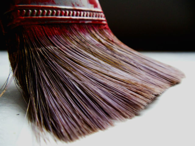 how to keep paint brushes soft