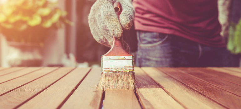 how to care for paint brushes after use