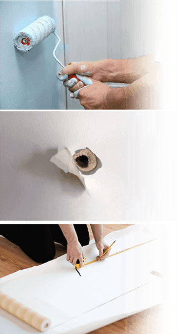 Efficient plaster repair services