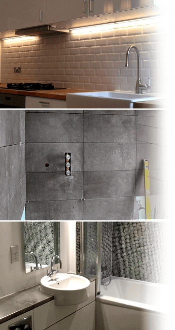 Kitchen and bathroom grouting service